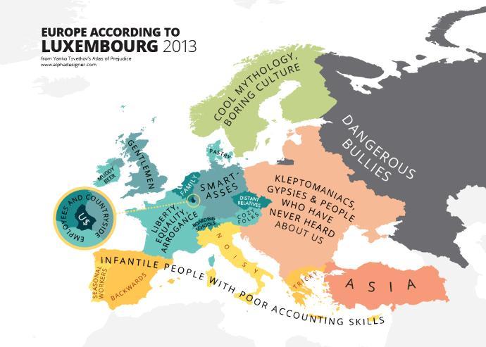 What Europe Looks Like According To...