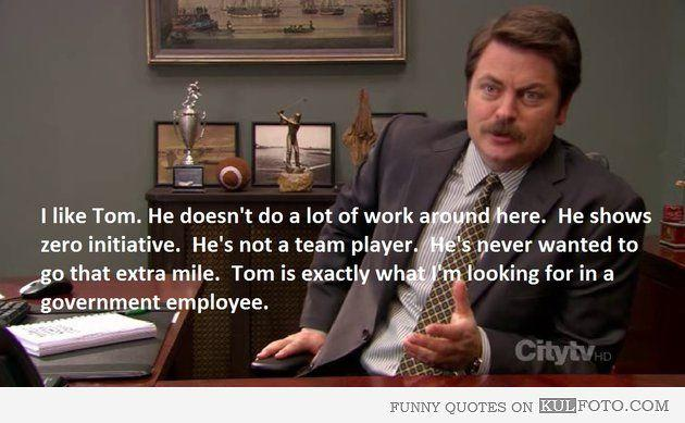 15 of the Funniest Ron Swanson Quotes Ever