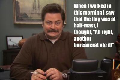 15 of the Funniest Ron Swanson Quotes Ever - GirlsAskGuys