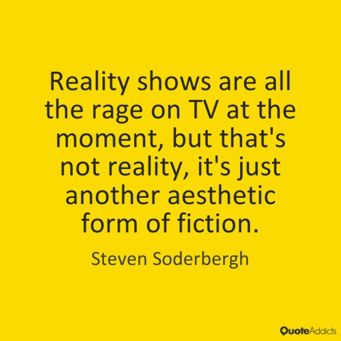 Reality TV and Its Descent Into Fake Unreality
