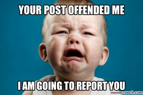 Dear Butthurt Extremists: Please Shut the Hell Up and Make a Difference