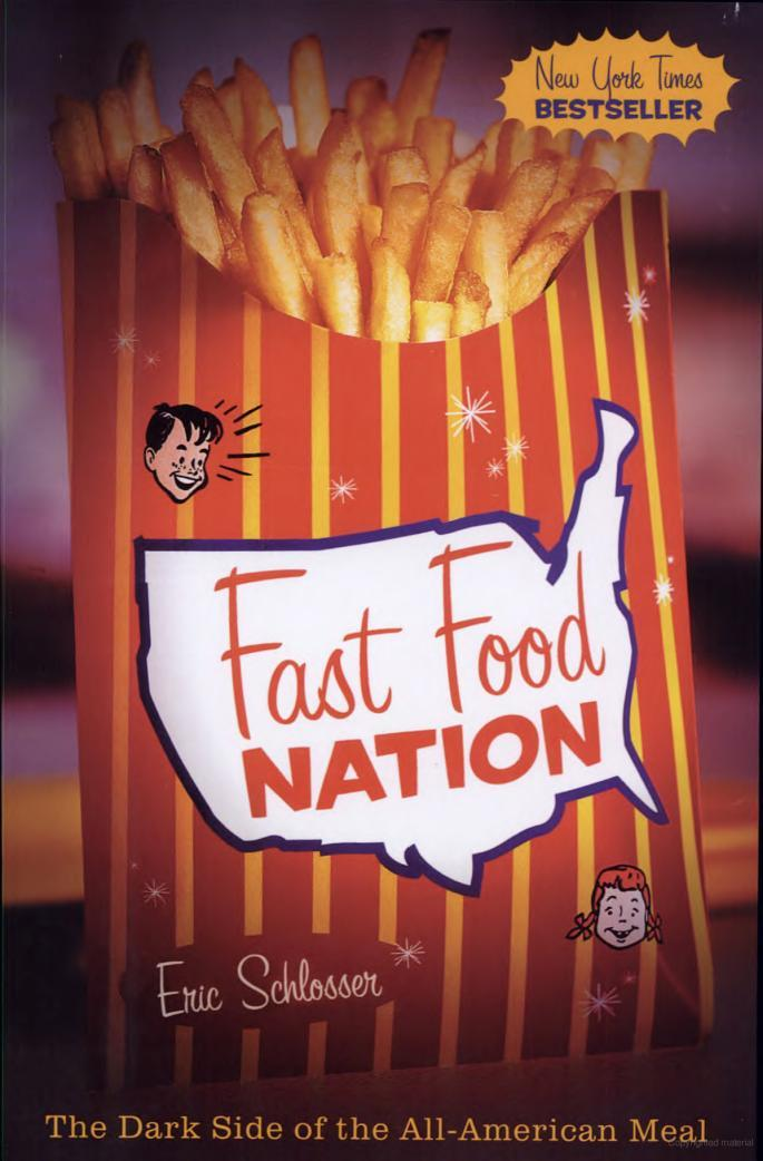 My Review of Fast Food Nation (2001)