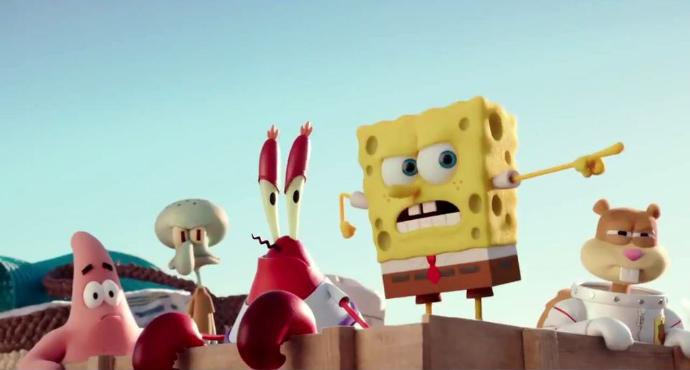 Stephen's Movie Review: Spongebob Squarepants 2: Sponge Out of Water.