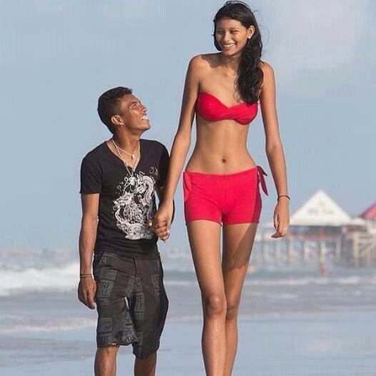 Tall Girl Dates Short Guy, And...