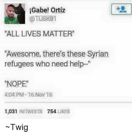 Shut The **** Up About All Lives Matter!