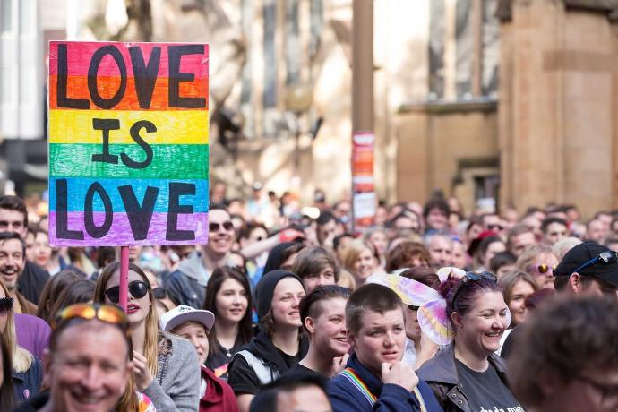 Why more women support gay marriage than men