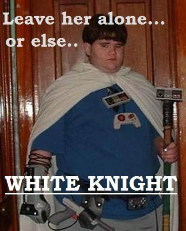The Problem With White Knights