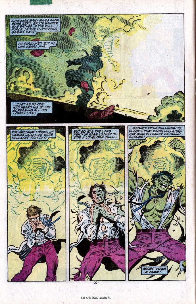 Comic Book Trivia: The Incredible Hulk