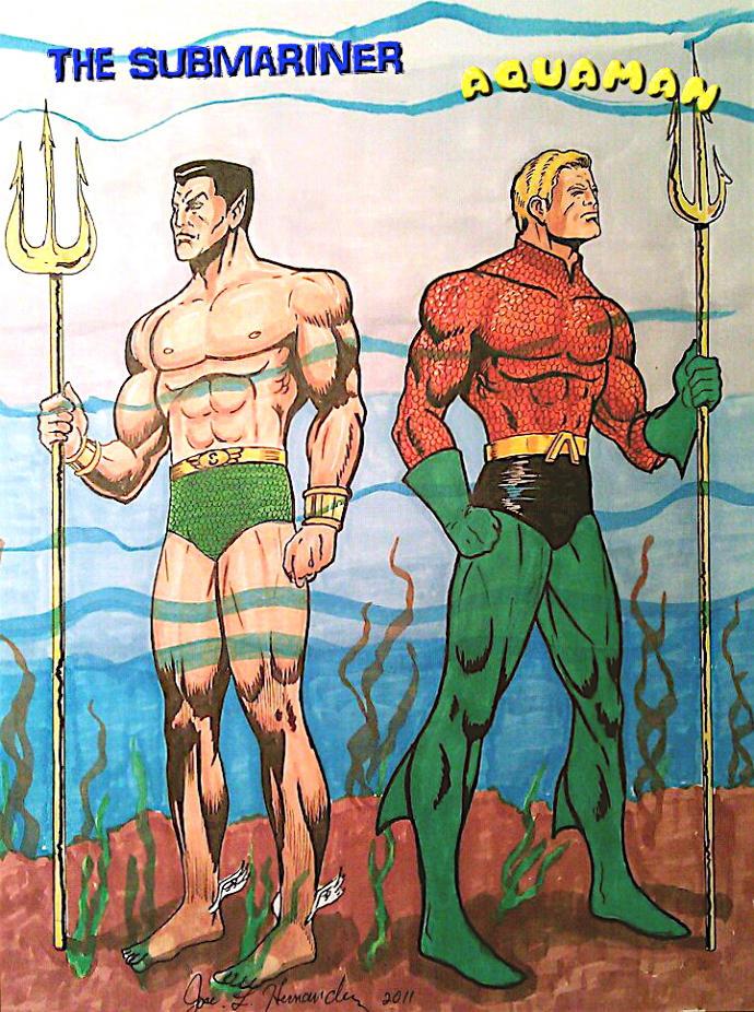 Comic Book Trivia: Namor, the Sub-Mariner