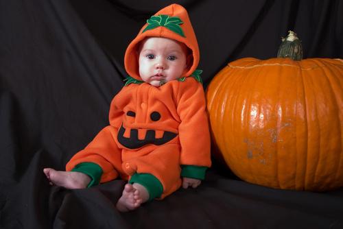 Halloween Babies In Costumes