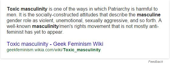 Is Masculinity Under Attack?