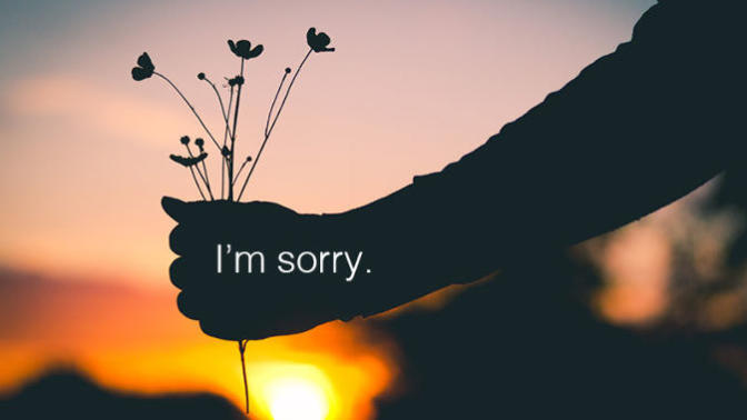 I am sorry, I hope you can forgive me