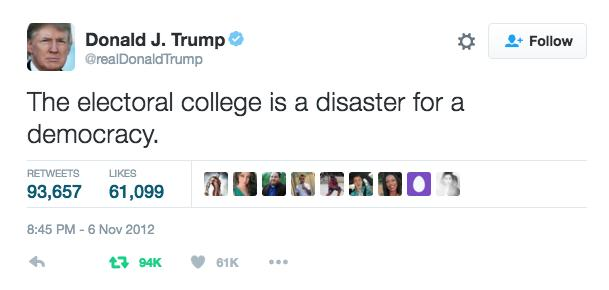 The Electoral College is Stupid But Not Because Clinton Lost