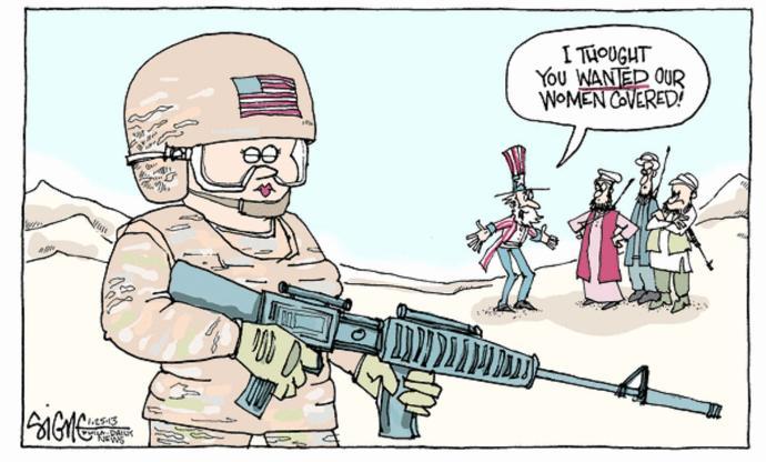 Women in Combat? Here's My Solution