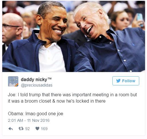 16 Hilarious Obama and Biden memes