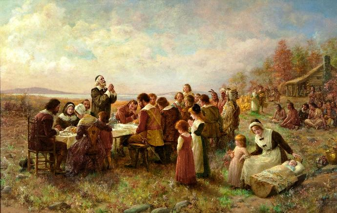 A Thanksgiving Prayer for Americans