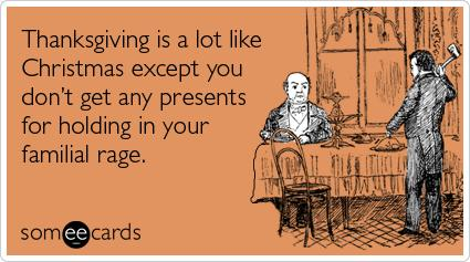 Why Thanksgiving is the Worst Holiday