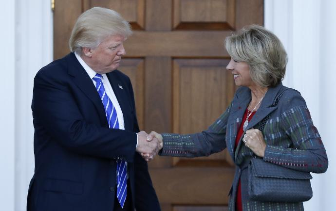 Trumps Selections are Lining Up:  Know Your Cabinet, Meet Betsy DeVos