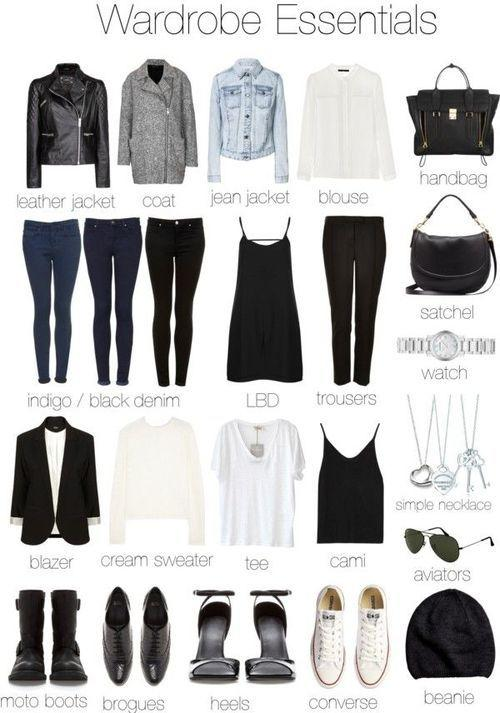 How to Create An Easy To Wear Capsule Wardrobe for Guys and Girls