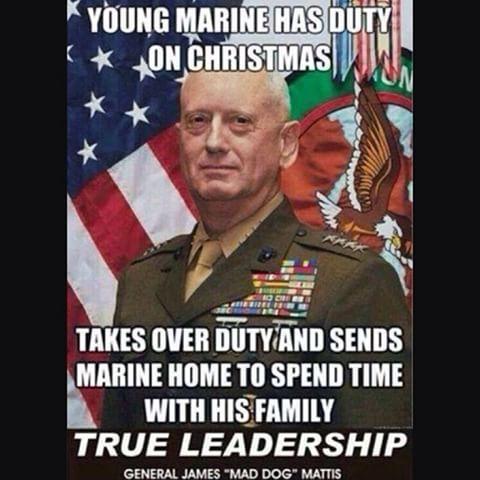 """Trump Still Lining Them Up- Meet """"Mad Dog Mattis"""" - Secretary of Defense"""