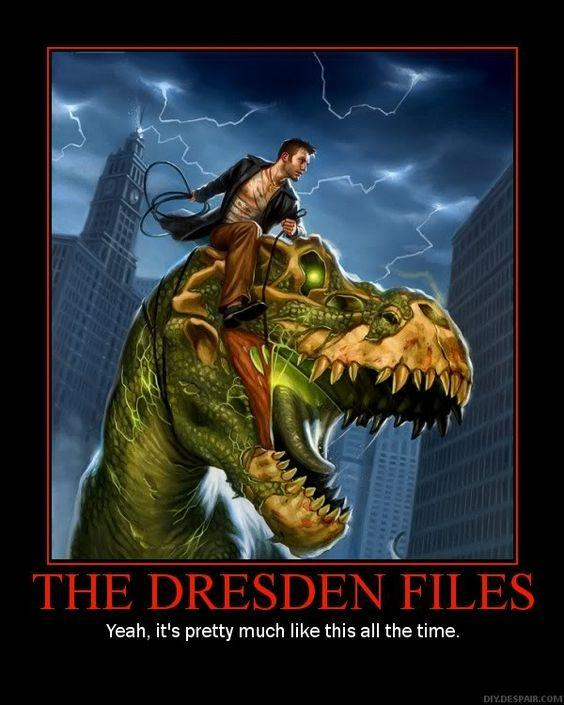 Some of my Favorite Dresden Files quotes