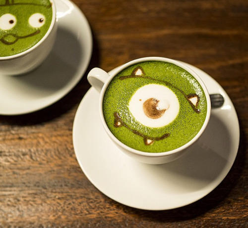 Amazing Latte Foam Art