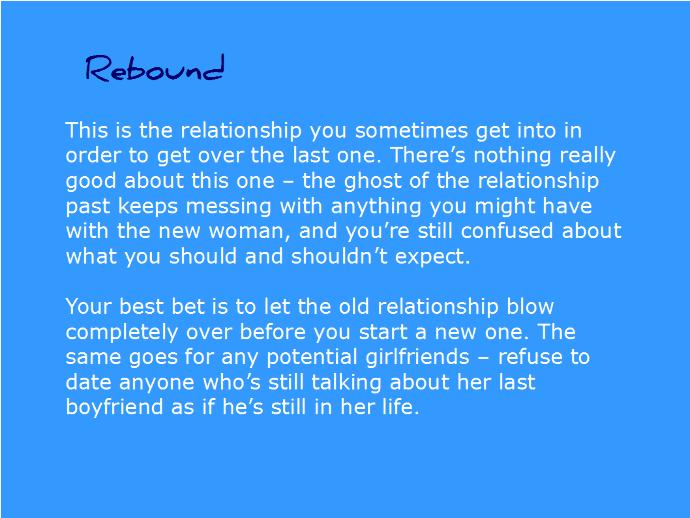 More Reasons to Not Date Someone on the Rebound