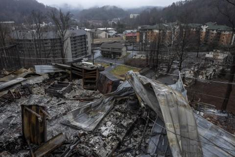 Fire On The Mountain: Fire Destroys a Smoky Mountain Resort Town
