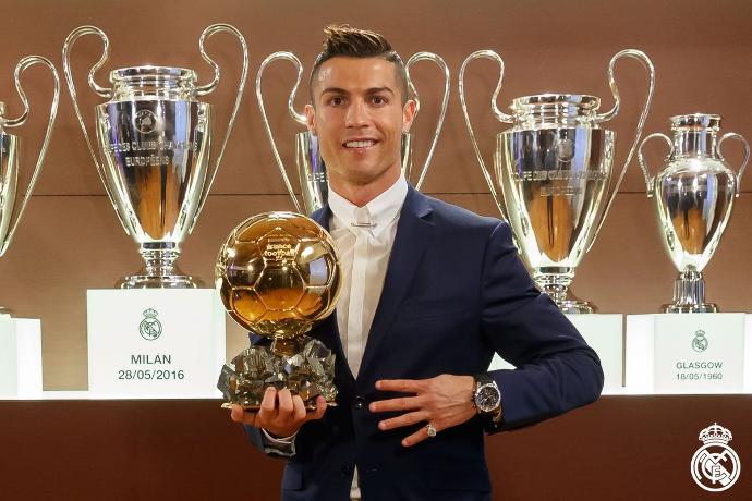 Ballon d'Or 2016: Cristiano Ronaldo wins award for fourth time