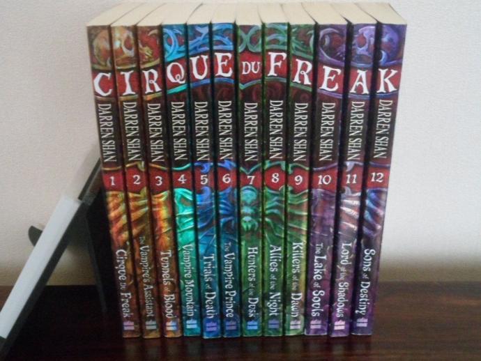 The Vampire Wanderlust Book shelf