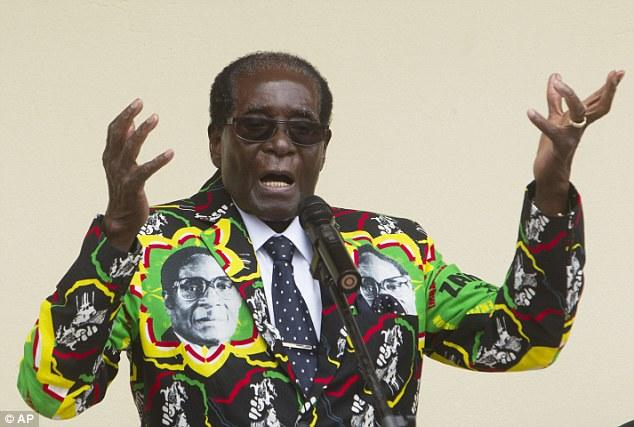 Robert Mugabe, 93, will stand for election in Zimbabwe AGAIN in 2018