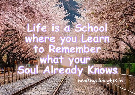 Life is A school.