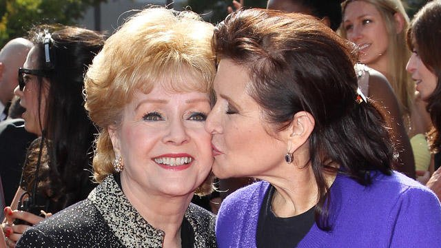 Debbie Reynolds passes away one day after her daughter, Carrie Fisher
