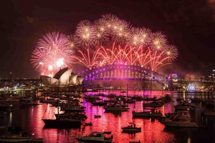 What it's like celebrating New Year's Eve in Australia