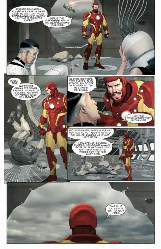 Myth or Fact? Statements Made About Iron Man