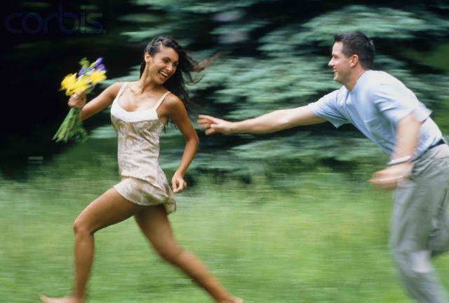 Why You Should Let the Man Chase You
