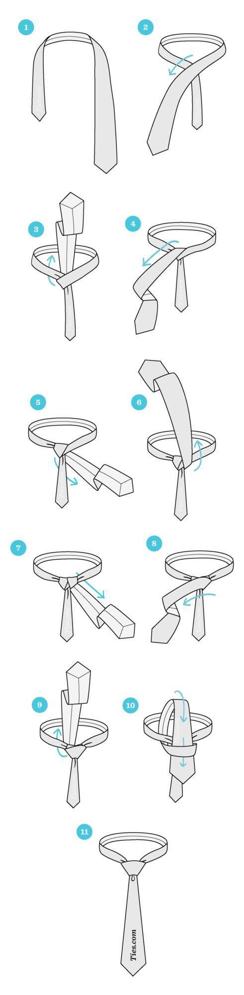 4 Different Ways To Tie A Tie 👔