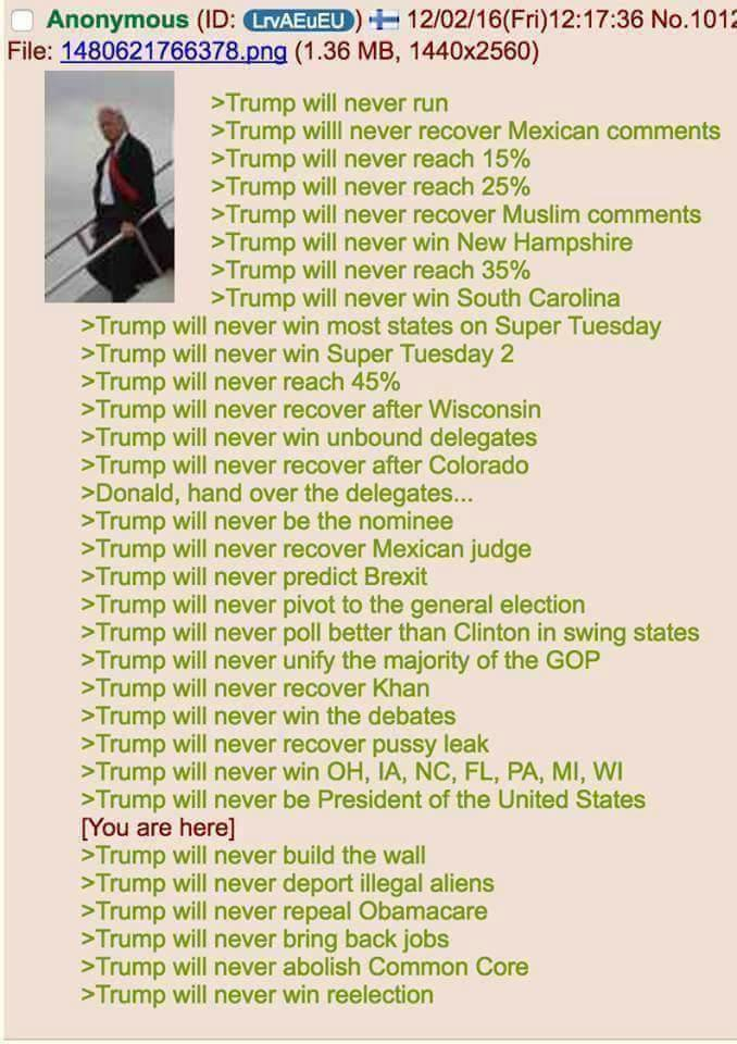 Why Trump is the President of the United States
