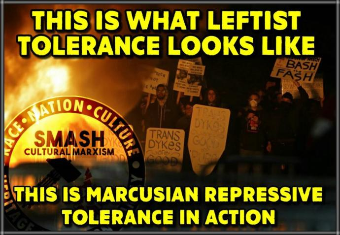 Intolerant Left Show Their True Colours Again By Attacking Free Speech.