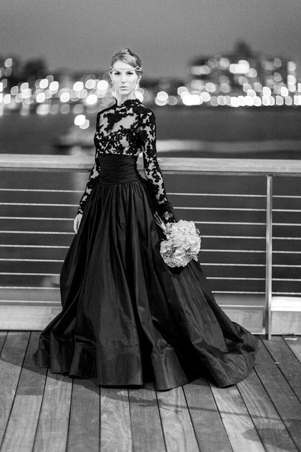 20 Black Wedding Dresses To Bring Out Your Inner Morticia Addams