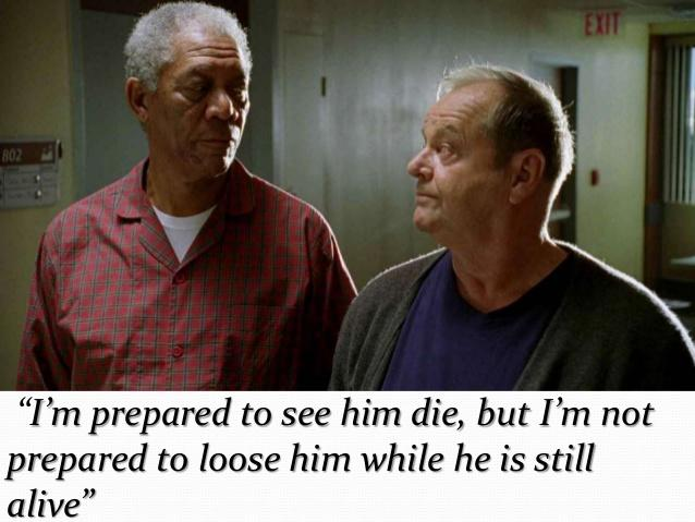 """Some Really Beautiful Quotes From the Movie """"The Bucket List"""""""