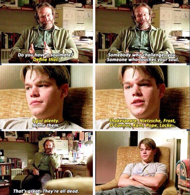 "Some Really Wise and Beautiful Quotes from the Movie ""Good Will Hunting"""