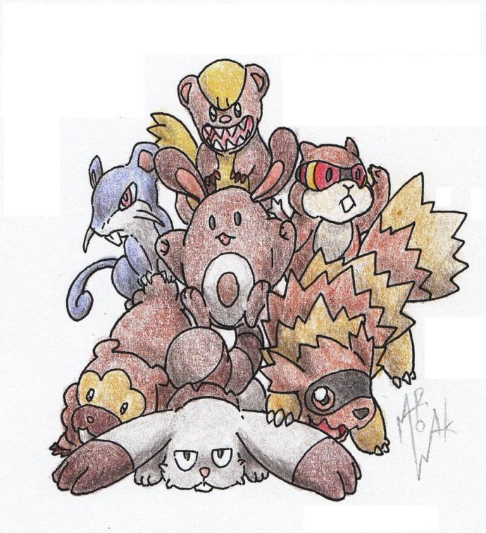 Generation 1 And Generation 2 Pokemon Resemblances According To Me