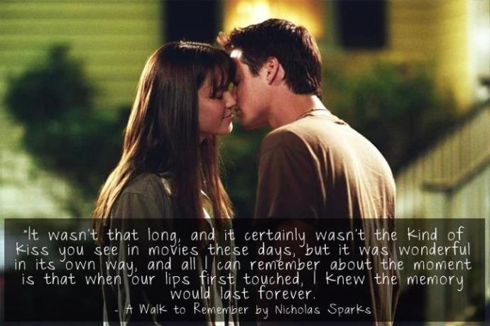 Some of the very Romantic and Wise Quotes from the movie