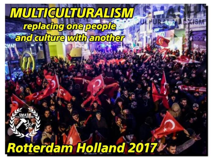 My Thoughts on the Recent Riots in Rotterdam, just Days before the Dutch Elections