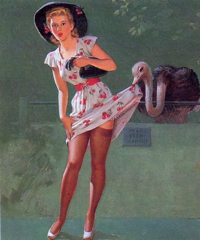Old Black Lady Nude