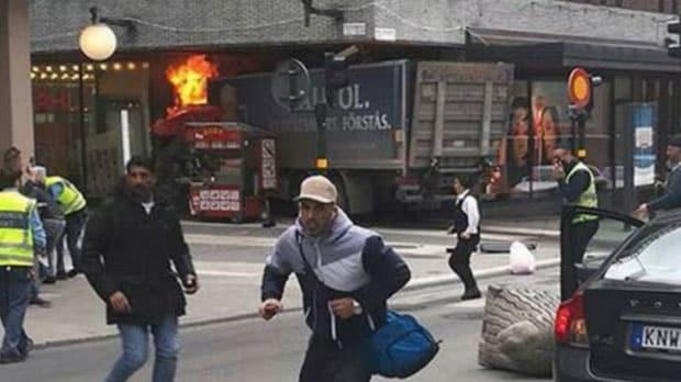 Stockholm: Mall Attacked By