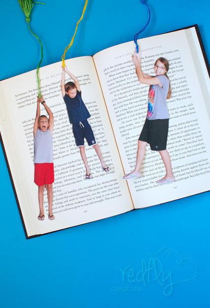 DIY Fun Photo Bookmarks