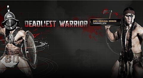 "My review of the show called ""Deadliest Warrior"""