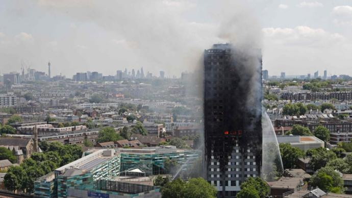 The Left's Hypocrisy over the Grenfell Tower Fire Incident